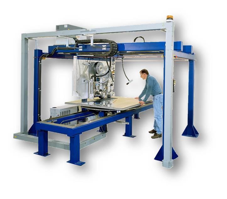 Electron Beam Tape Laminator Accudyne Systems Inc