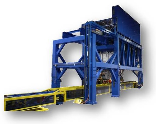 Accudyne Systems stringer former builds curved or twisted  stringers