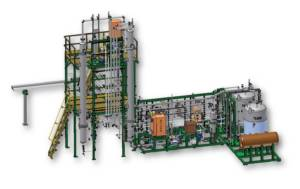 HPFP DME System for Fiber Recycling a