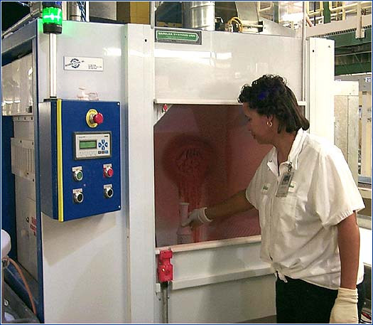 Spray Booth Accudyne Systems Inc
