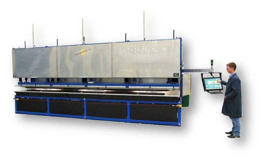 Accudyne Systems Installs Double Omega  Stringer Former