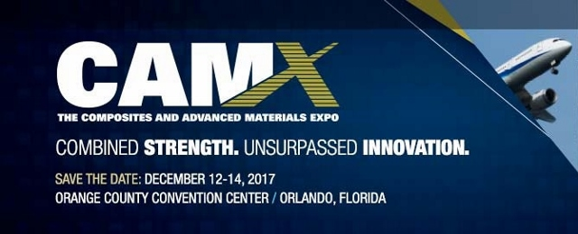We'll see you in Orlando this December ! #CAMX2017
