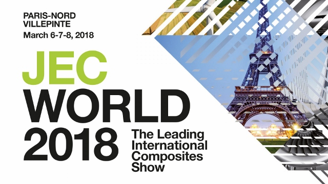 Please come visit us at JECWorld 2018…